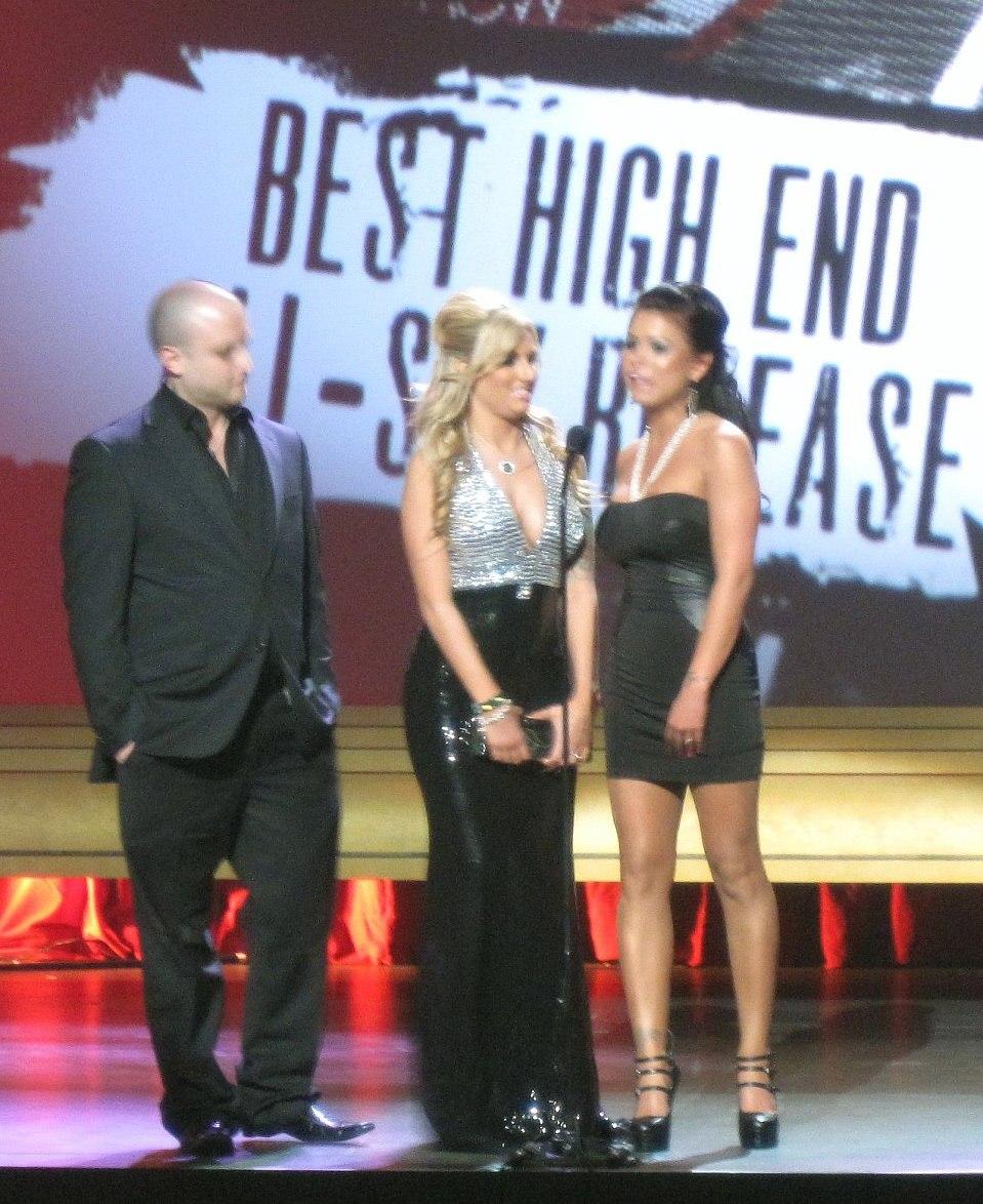 Joshua, Teagan Presley & Eva Angelina at the 2010 AVNs cropped