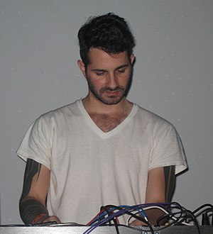 Joshua Eustis - Image: Joshua Eustis with Telefon Tel Aviv in 2009