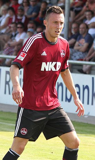 Josip Drmić - Drmić in action for Nürnberg in July 2013