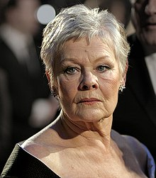 Dench at the BAFTAs, 11 February 2007