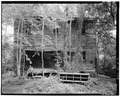 June 1979. WEST ELEVATION. - Womack's Mill, Yanceyville, Caswell County, NC HAER NC,17-YANV.V,3-2.tif