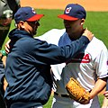 Justin Masterson and Terry Francona (8737514422).jpg