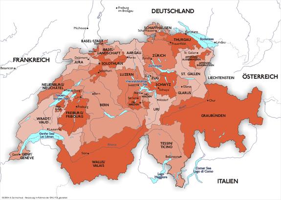 Schweiz – Reiseführer auf Wikivoyage