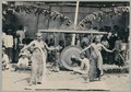 KITLV - 10830 - Kurkdjian - Soerabaja - Female dancers from Surabaya at the pasar malam in Surabaya - 1905-1906.tif