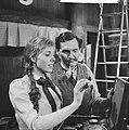 KRO-televisie TV-spel Ik herinner mij mama Jan Hundling en Liesbeth Strupper, Bestanddeelnr 913-9828.jpg