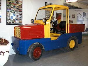 Kalmar Verkstad - KVAB airport truck