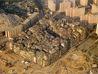 Triad (organized crime) - From the 1950s to the 1970s, the Kowloon Walled City in British Hong Kong was controlled by local triads.
