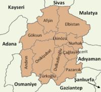 Kahramanmaraş location districts.png