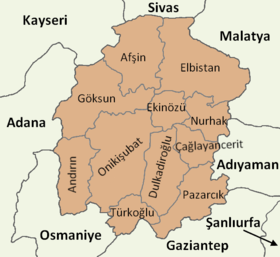 Kahramanmaraş location districts.png