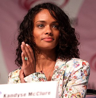 Kandyse McClure - McClure at the 2013 WonderCon
