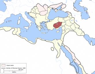 Karaman Eyalet - Image: Karaman Eyalet, Ottoman Empire (1609)