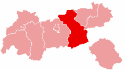 Bezirk Schwaz location map