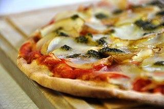 History of pizza Wikimedia history article