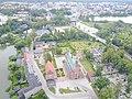 Kartuzy carthusian monastery aerial photograph 2019 P03.jpg