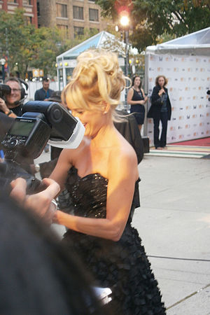 Katherine LaNasa - LaNasa at premiere of Jayne Mansfield's Car in 2012