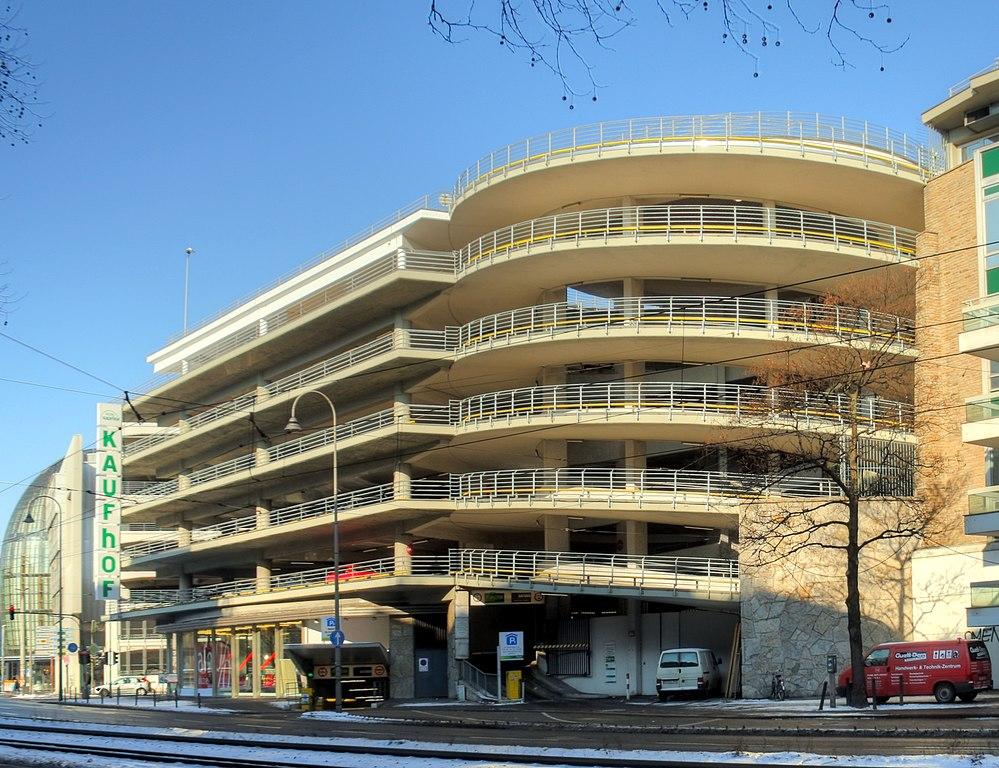 Galeria Kaufhof Frankfurt Parkhaus