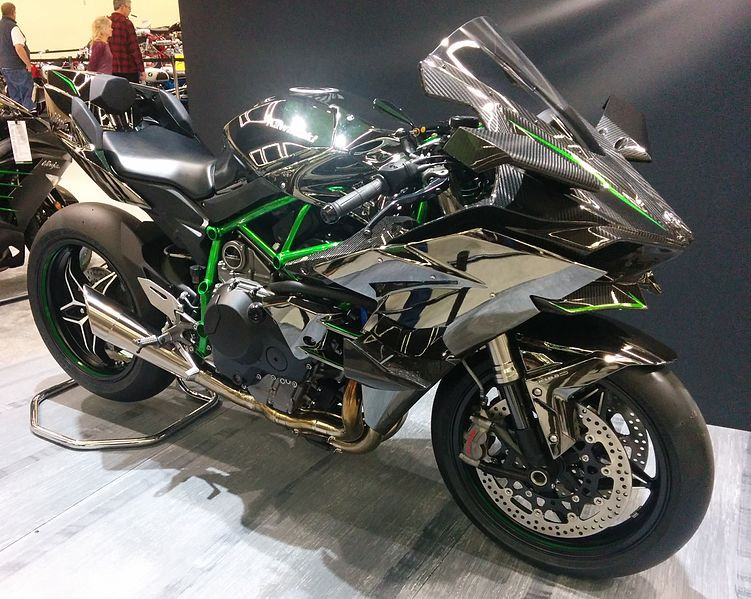 File:Kawasaki Ninja H2R Seattle motorcycle show.jpg