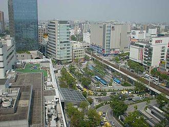Kawasaki, Kanagawa - The area around Kawasaki Station