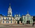 Kazan Baumana Street StNicholas Cathedral 08-2016.jpg