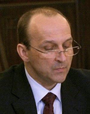 Kazimierz Marcinkiewicz - Image: Kazimierz Marcinkiewicz 2006 (cropped)
