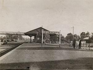 Kelmscott railway station - Kelmscott station in 1921