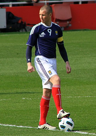 Kenny Miller - Miller playing for Scotland in March 2011