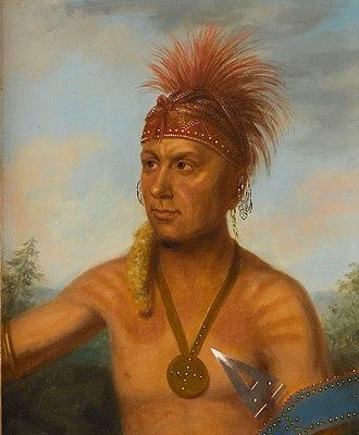 Keokuk (Sauk leader) - Keokuk in 1826