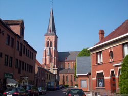 Town centre and Saint Willibrord Church