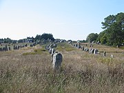 Megaliths at Carnac.