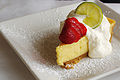 Key Lime Pie at Coastal Kitchen, June 2009.jpg