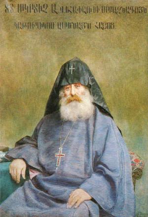 Mkrtich Khrimian - A 1900 portrait of Khrimian by Yeghishe Tadevosyan