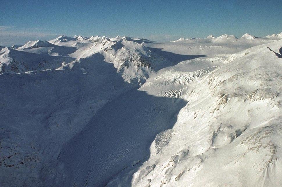 Kialagvik Glacier Alaska Peninsula NWR