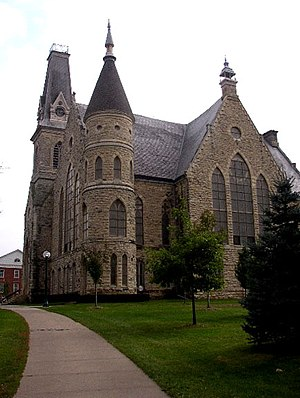 Cornell College - King Chapel, Cornell College