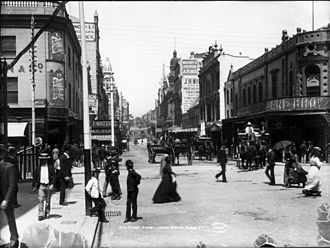 King Street, Sydney - King Street has been a busy city street since the early 20th Century