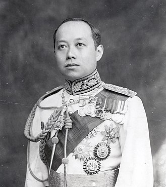 Crown Prince of Thailand - Image: King Vajiravudh (Rama VI) of Siam