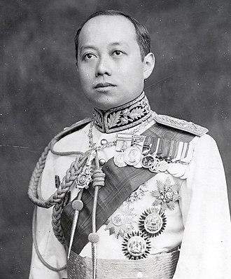 Vajiravudh - Image: King Vajiravudh (Rama VI) of Siam