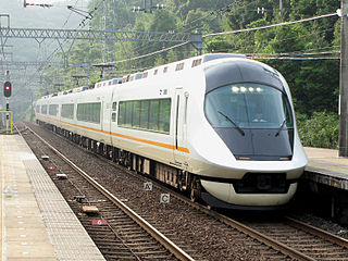 rail line owned by Kintetsu in Japan