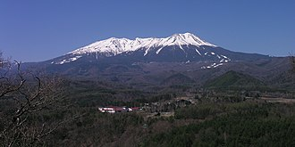 Mount Ontake - Viewed from Kuzo Pass of Route 361