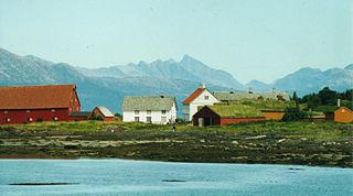 Former municipality in Nordland, Norway