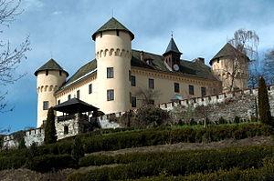 Клагенфурт: Klagenfurt Schloss Tentschach 25032008 49