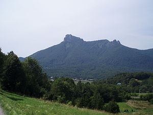 Klek Mountain, above Ogulin (Croatia).JPG