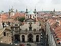 Klementinum kostel sv salvatora z mostecke veze.JPG