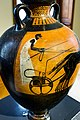 Kleophrades Painter ABV 404 5extra - Athena Promachos - charioteer in quadriga - Basel ASuSL BS 494 - 04.jpg