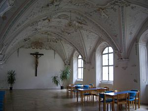 Klosterbuxheim refektorium
