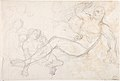 Kneeling Female Nude and Two Studies of Angels MET DP802905.jpg