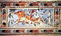 Minoesch Fresk zu Knossos