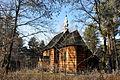 Kościół p.w.św.Doroty z 1749r z Wolanowa przeniesiony na teren muzeum.jpg