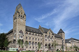 Rhine Province - Former Prussian government building of the Rhine Province in Koblenz