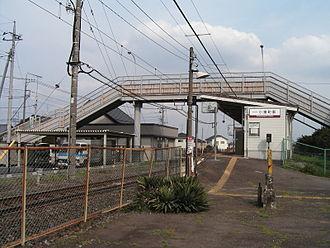 Koizumimachi Station - Koizumimachi Station in April 2007