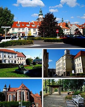 Syców - Image: Kolaz sycow